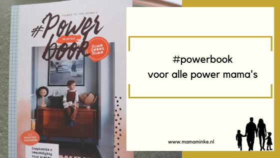 #powerbook voor rust lieve mama!