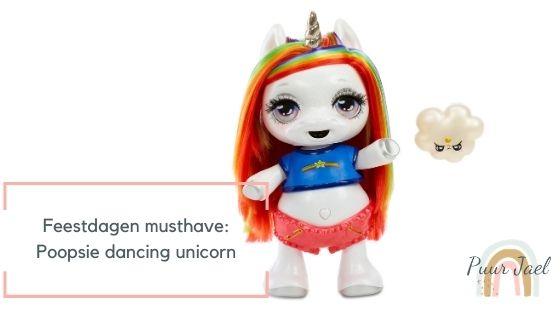 Poopsie dancing unicorn must have voor de feestdagen