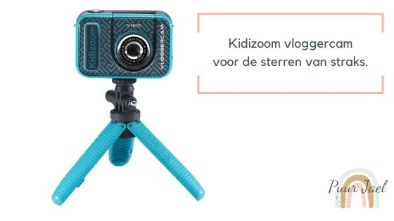 Kidizoom vloggercam is een must have voor kids