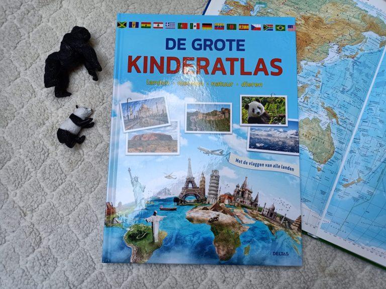 De grote kinderatlas om samen op reis te gaan