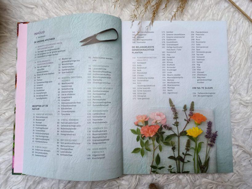 inhoudsopgave geneeskrachtige kruiden en planten