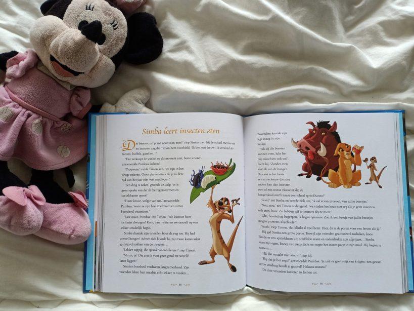sprookje lionking uit het grote 1-minuut verhalenboek