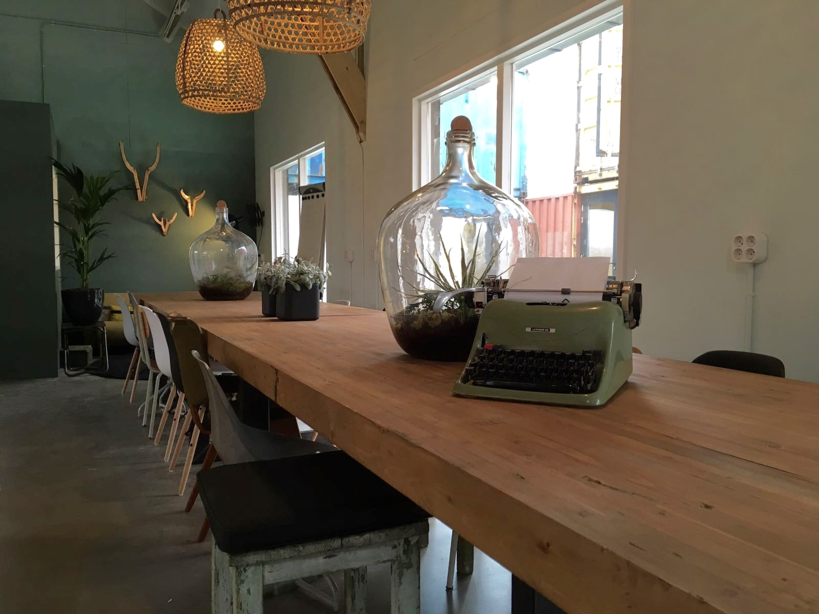 interieurconcept start up village co-workingspace Amsterdam Puur styling Rianne Timmer Vos