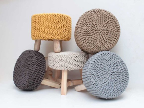 TRENDS | XXL breien, haken en nu ook borduren | Puur Styling ...