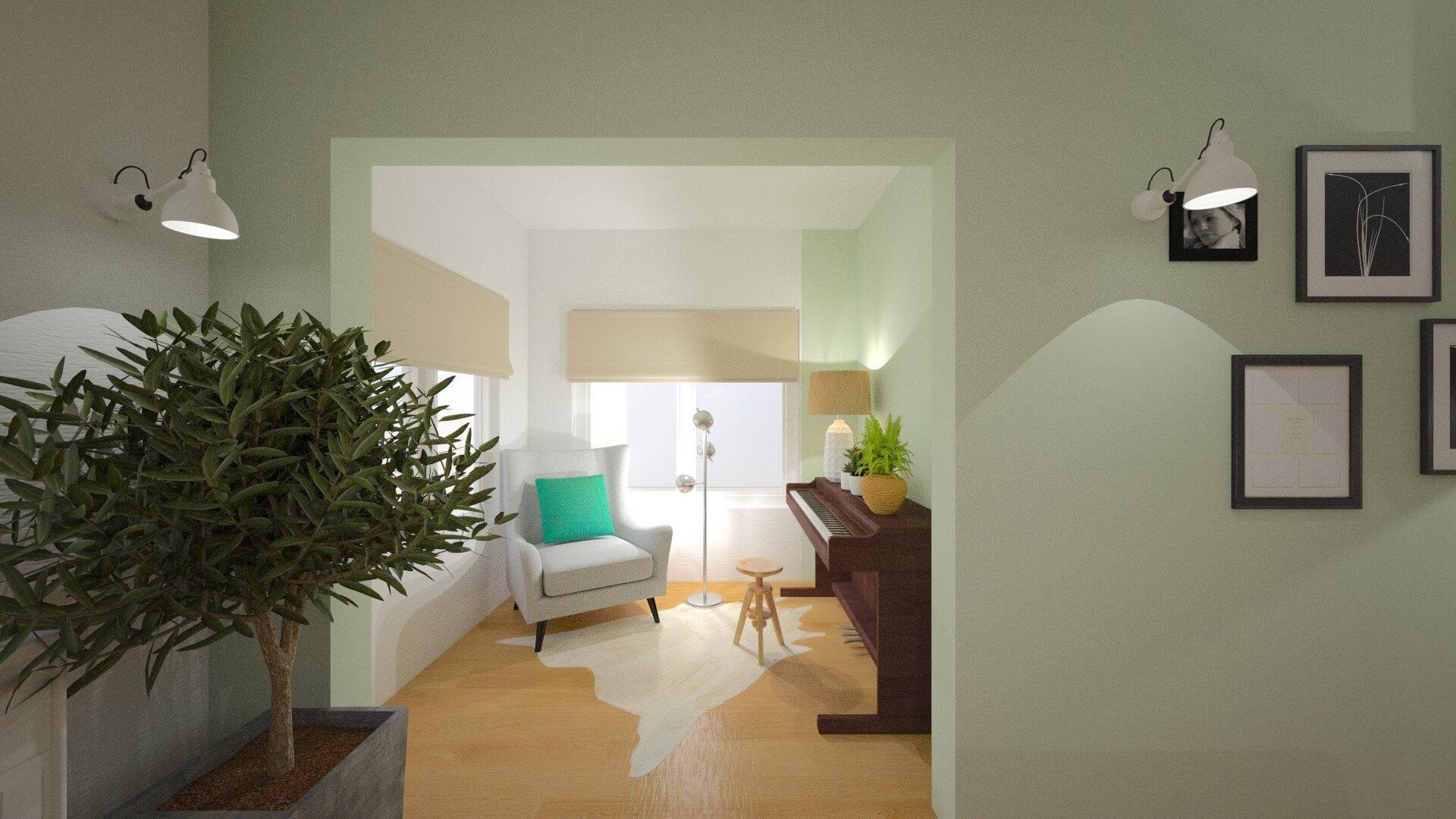 interieurontwerp 3D Hornhuizen