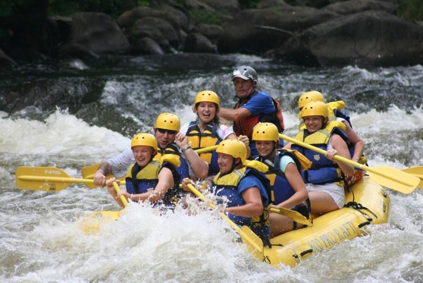 rafting - gezinsvakantie - puurvangeluk