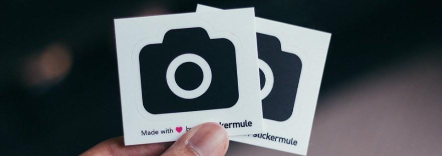 stickers - online - kopen - marketing tool - puur van geluk