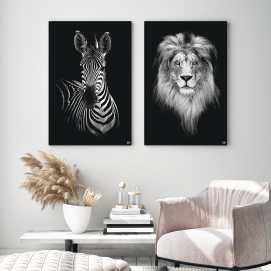 HIP_ORGNL_Lion_Zebra_Mood