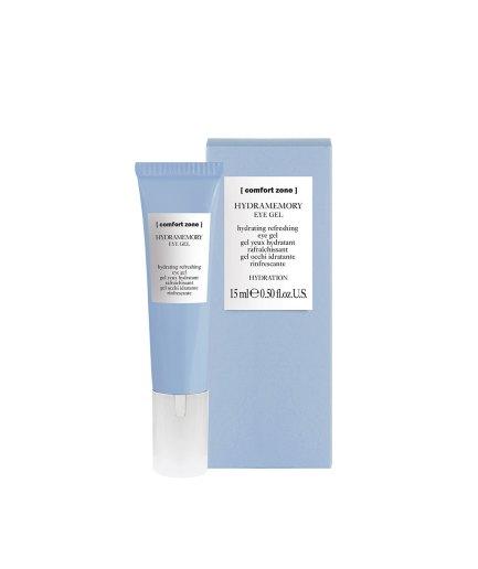 product en verpakking hydramemory eye gel 15ml [comfort zone] puurwellnessamersfoort