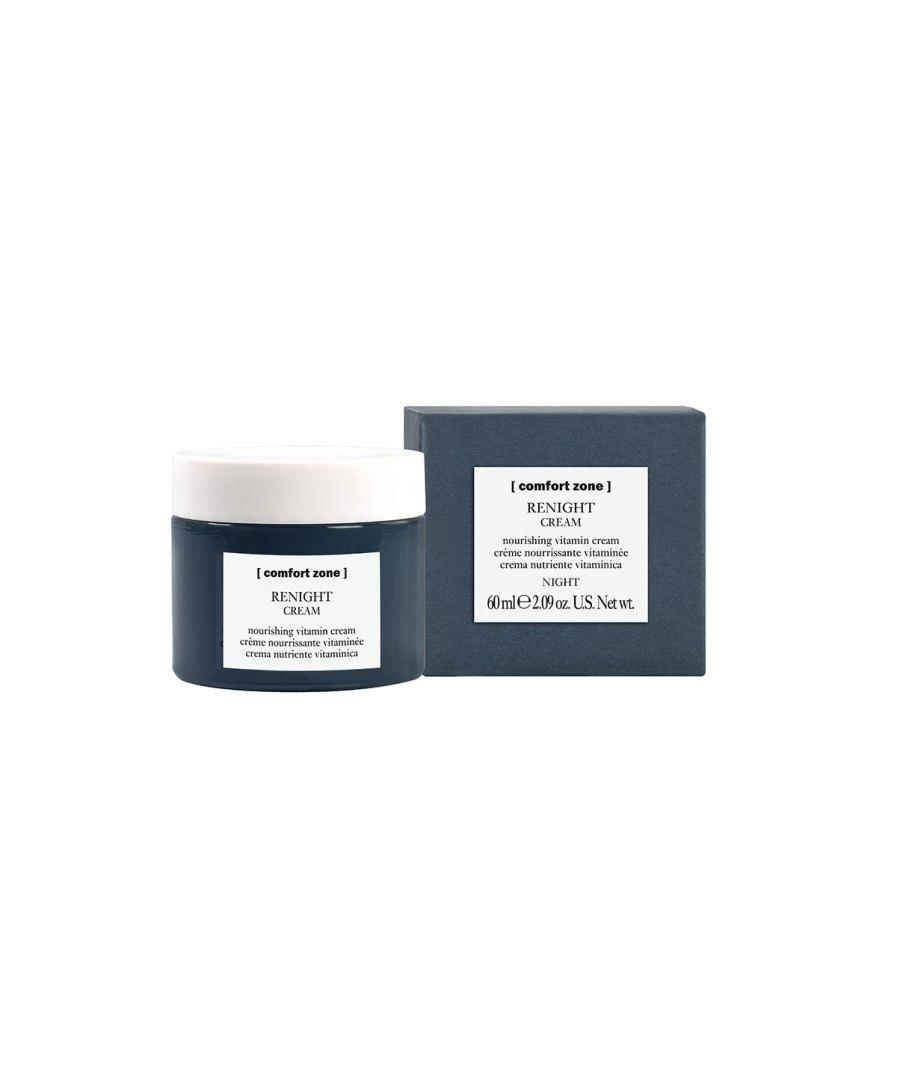 product en verpakking Renight cream 60ml [comfort zone] puurwellnessamersfoort
