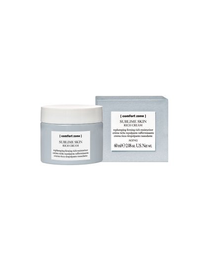 Product en verpakking Sublime Skin Rich Cream 60ml [comfort zone] Puurwellness amersfoort