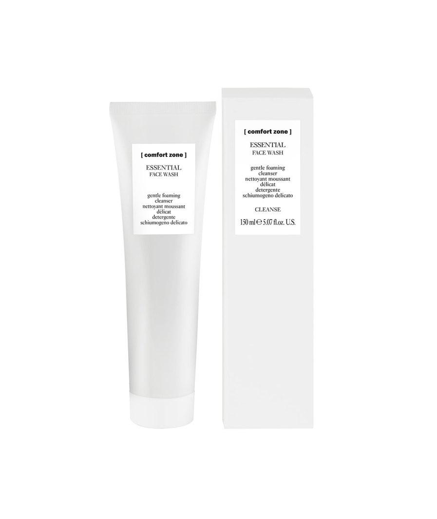 product en verpakking Essential Face wash [comfortzone] puurwellnessamersfoort
