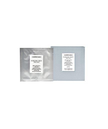 product en verpakking [comfort zone] sublime skin peel pads 14stuks puurwellnessamersfoort