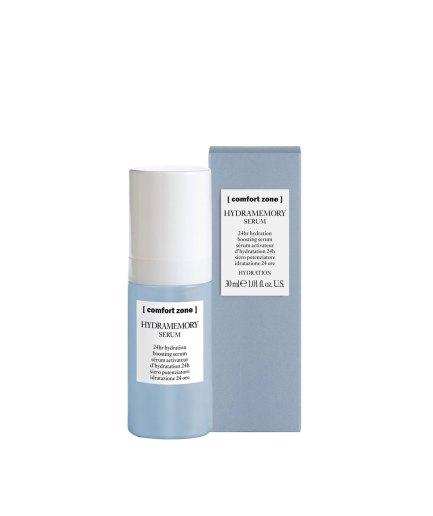 product en verpakking Hydromemory serum [comfort zone] 30ml - puurwellnessamersdfoort