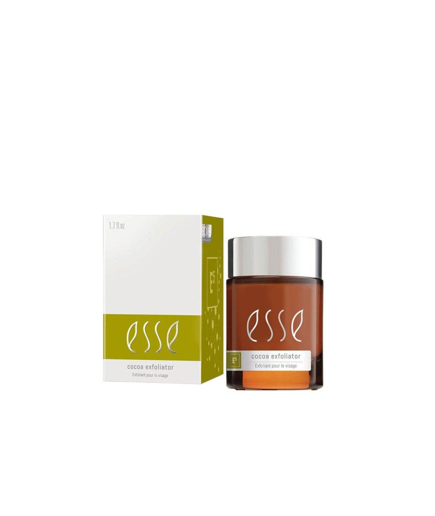 product en verpakking ESSE cocoa exfoliator 50ml Puur Wellness Amersfoort