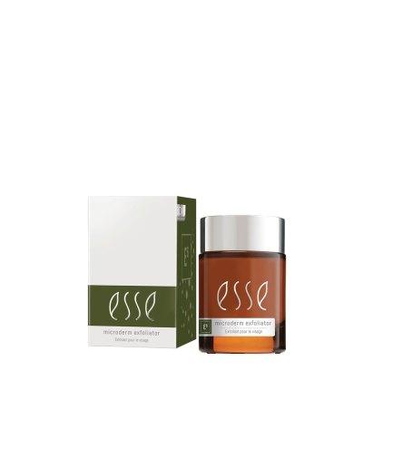 product en verpakking ESSE Microderm exfoliator 50ml Puur wellness Amersfoort