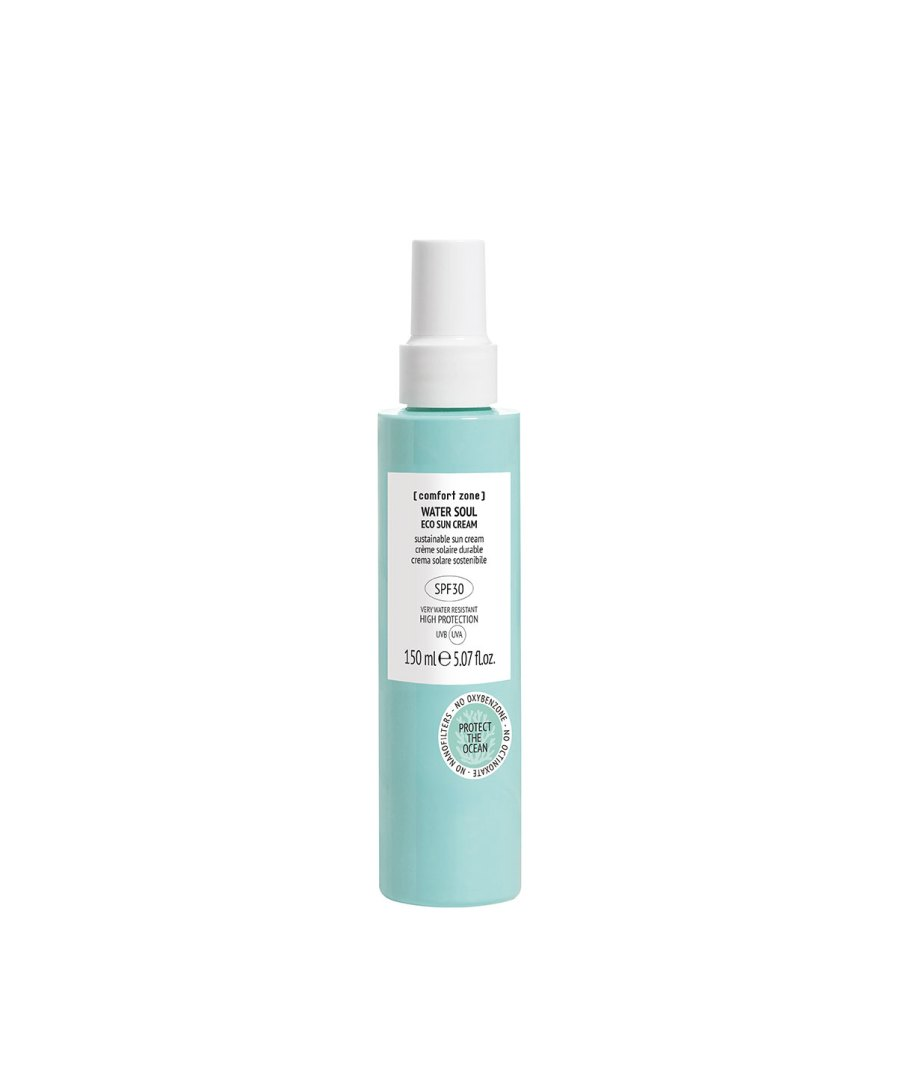Water-Soul-Eco-sun-cream-SPF30-150ml [comfort zone] Puur wellness Amersfoort