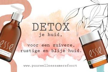 Detox je huid, een Esse behandeling -puur wellness amersfoort