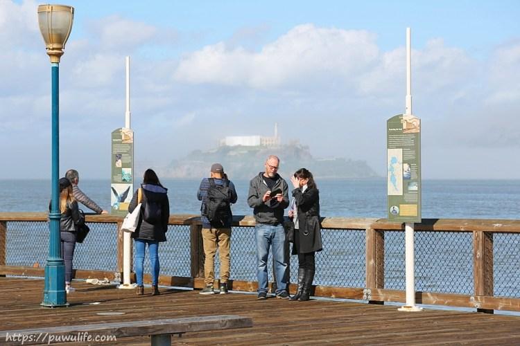 【美西自由行】舊金山必遊漁人碼頭!看海獅日光浴、遠眺金門大橋與惡魔島