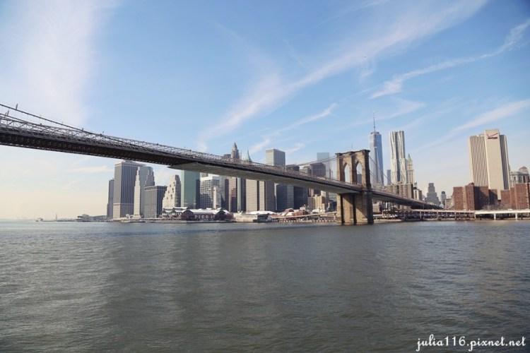 【冬季大蘋果】曼哈頓遊船記~自由女神(Statue of Liberty)。布魯克林大橋(Brooklyn Bridge)