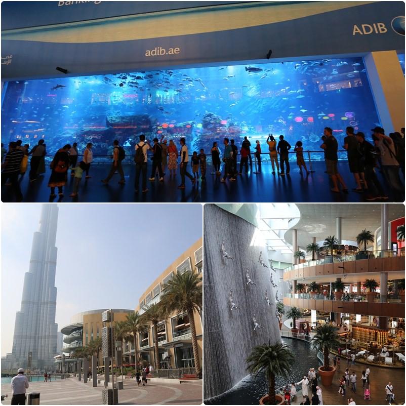 【阿拉伯聯合大公國】杜拜。世界最大購物中心~The Dubai Mall