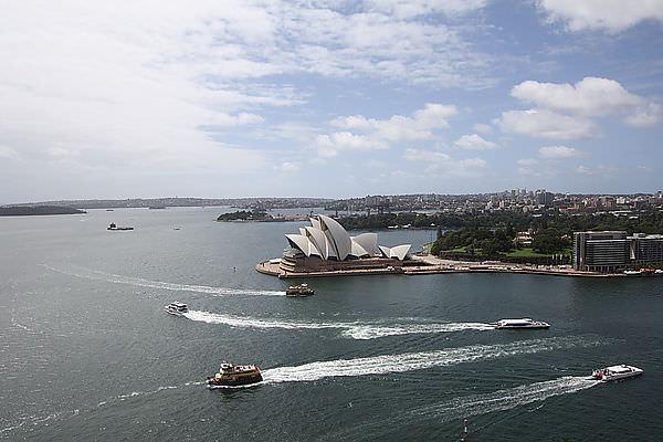【東澳雪墨自由行】不可能錯過你啊~雪梨歌劇院。港灣大橋
