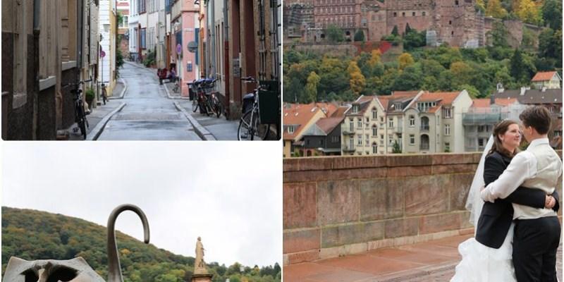 【德意志Guten Tag】海德堡(Heidelberg)。德國最古老大學城(下)~市集廣場、聖靈教堂、老橋、海德堡之吻
