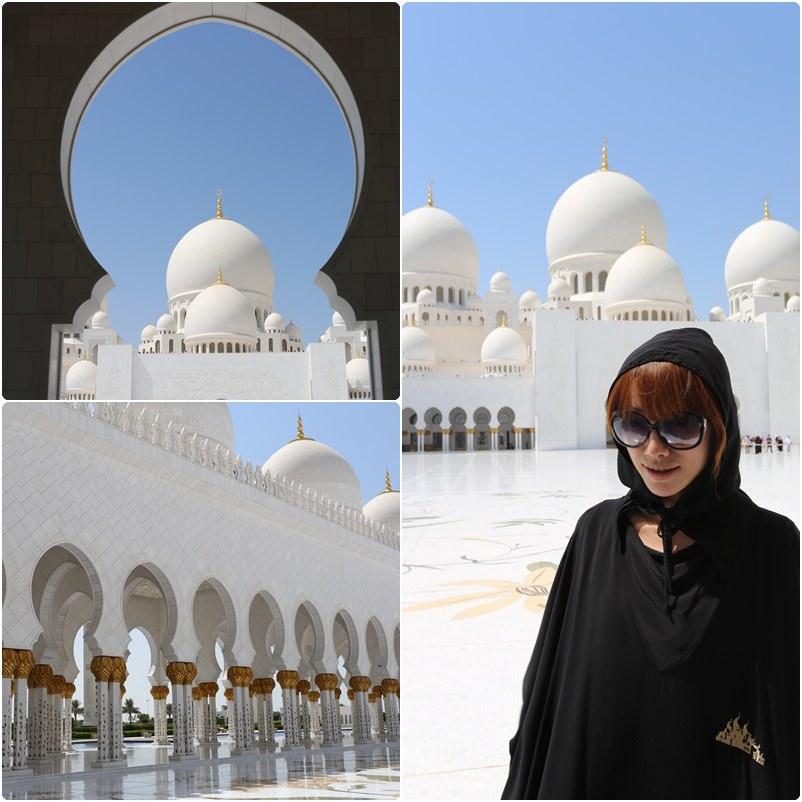 【阿拉伯聯合大公國】阿布達比。阿聯酋最大清真寺〈Sheikh Zayed Grand Mosque〉