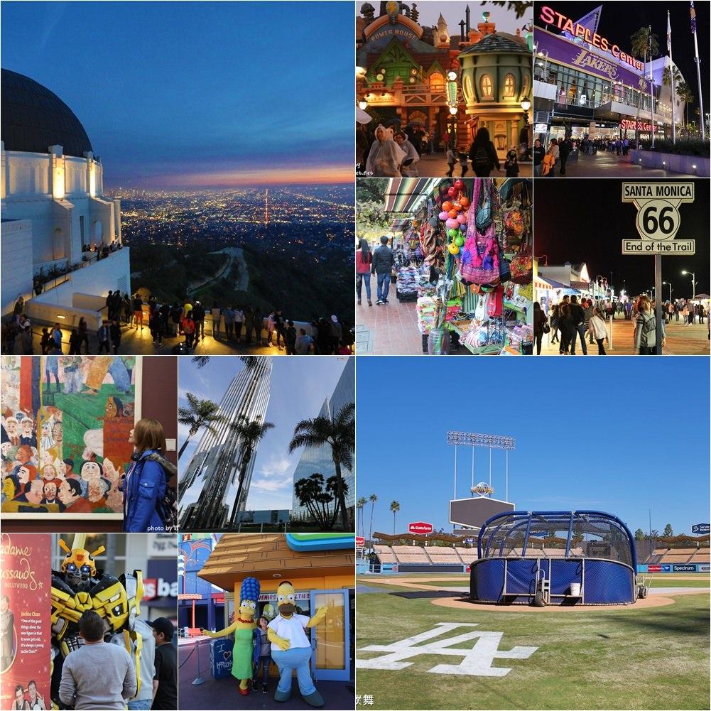 【美西自由行】洛杉磯旅遊熱門景點!推薦14個第一次到洛杉磯必訪打卡點♥♥