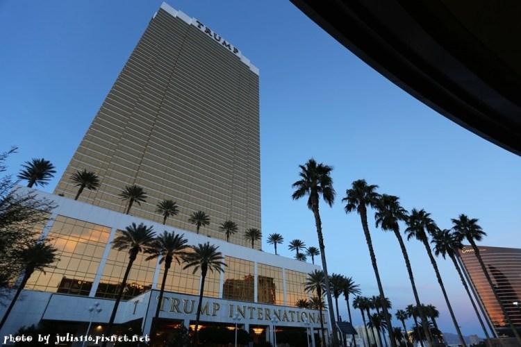 【美西自由行】拉斯維加斯住宿推薦!川普國際酒店Trump International.賭城平價五星景觀公寓套房♥