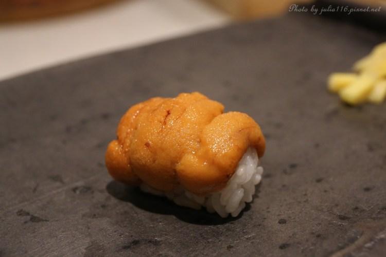 【Shushi-IKI.粋】中山區。新開幕!精緻無菜單日本料理,鮮甜海味令人驚艷♥(大直/劍南站)