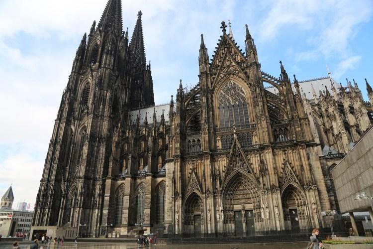 【德意志Guten Tag】科隆(Koln)。世界遺產科隆大教堂