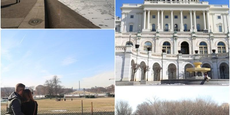 【冬季大蘋果】華盛頓特區(Washington,D.C.)。國會山莊。白宮。林肯紀念堂。韓戰越戰紀念碑