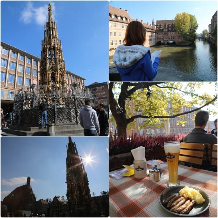 【德意志Guten Tag】紐倫堡。走過中世紀古城(上)~聖羅倫茲教堂。聖母堂。美泉