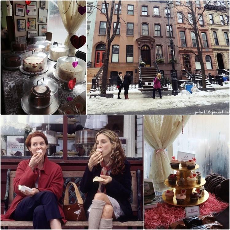 【冬季大蘋果】慾望城市景點朝聖♥凱莉的家與MAGNOLIA BAKERY杯子蛋糕店♥