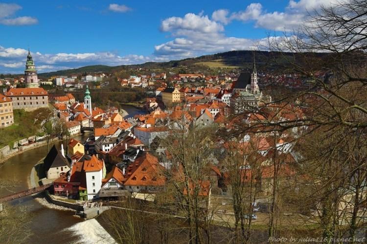 【捷克自助】庫倫洛夫(Český Krumlov)。捷克旅遊必訪中世紀童話小鎮❤