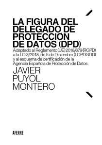 La figura del delegado de protección de datos (DPD)