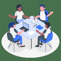 会議の画像