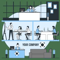 会社の画像