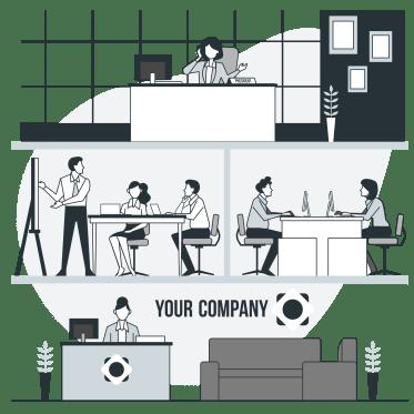 グレー企業の画像
