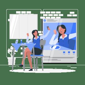 女子事務員の画像