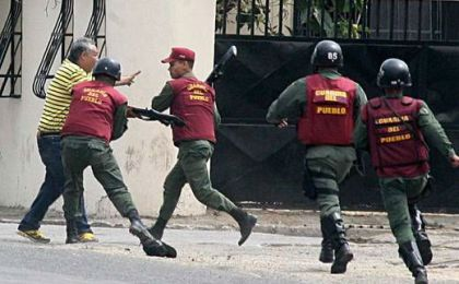 Represión en el Gobierno de Maduro aumentó 485%