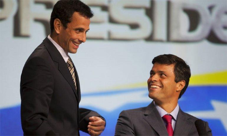 Capriles y López siguen siendo las principales opciones de la oposición