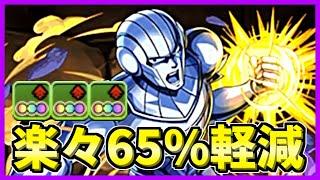 【パズドラ】魔王軍「ヒム」で楽々毎ターン65%軽減!!
