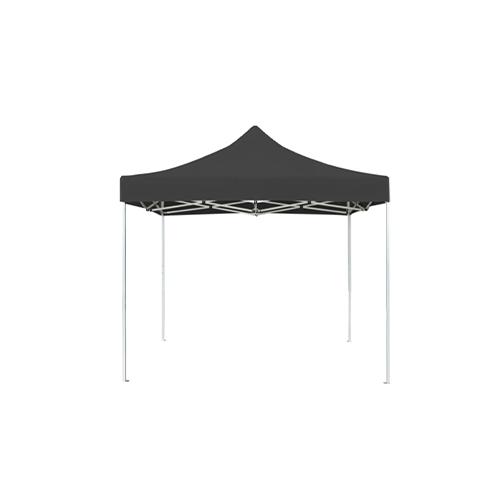 tonnelle parapluie noire dépliée