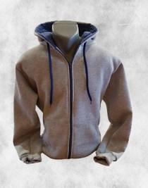 Duks jakna svetlo siva