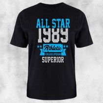 1389 crna majica plav