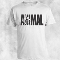 animal bela majica crni natpis