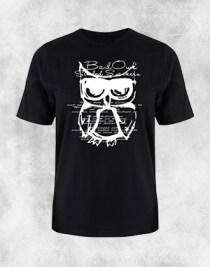 bad owl crna majica