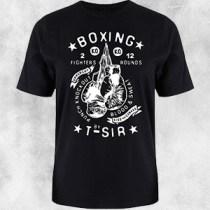 boxing crna majica
